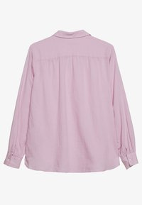 Marc O'Polo - BLOUSE LONG SLEEVED - Button-down blouse - bleached berry - 1