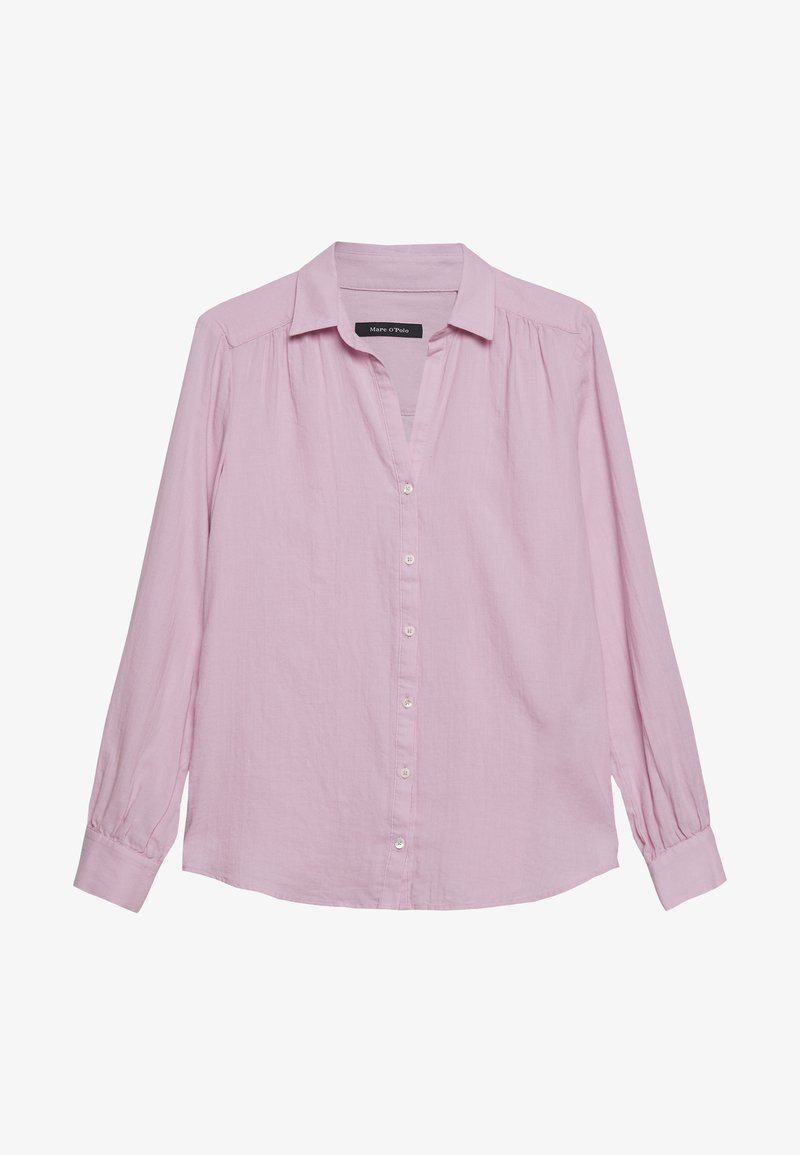Marc O'Polo - BLOUSE LONG SLEEVED - Button-down blouse - bleached berry