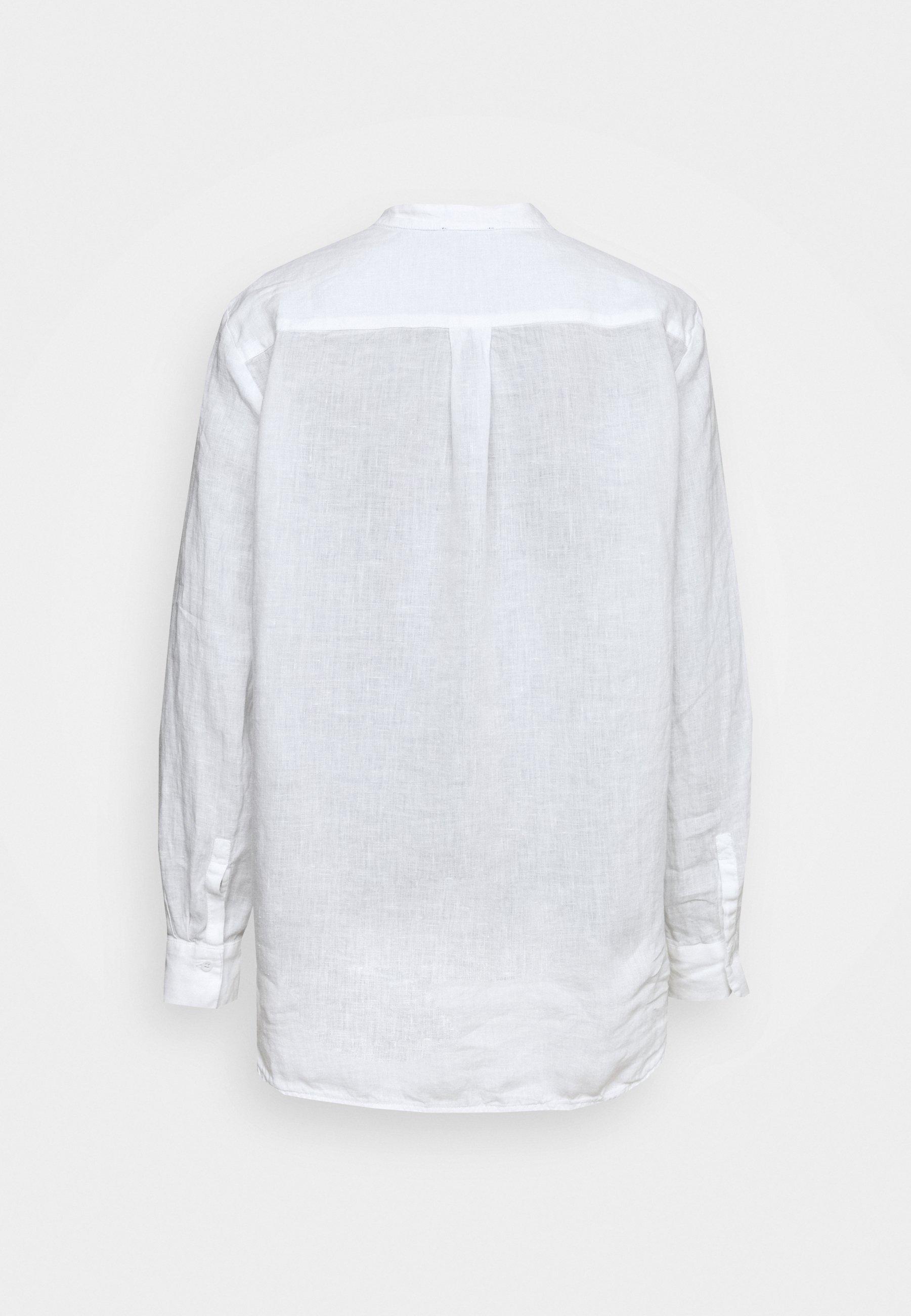Marc O'polo Blouse Long Sleeved - Pusero White