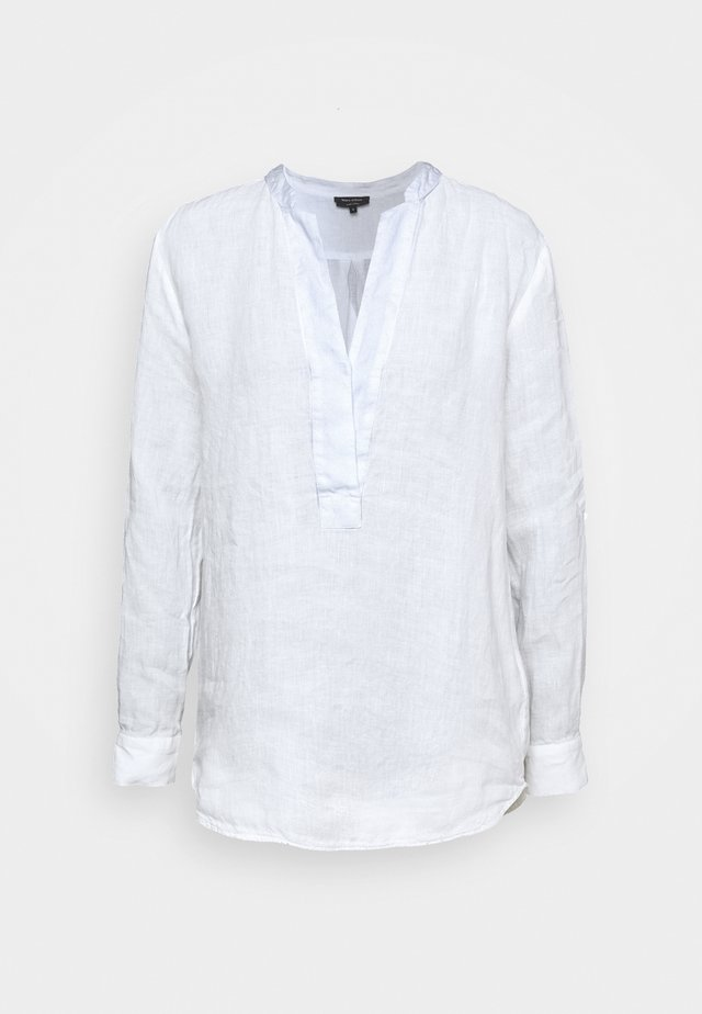 BLOUSE LONG SLEEVED - Blouse - white