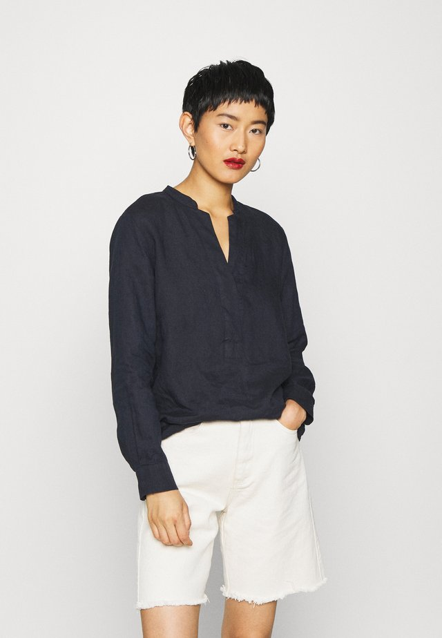 BLOUSE LONG SLEEVED - Bluse - night sky