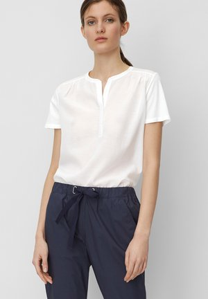 Blouse - white linen