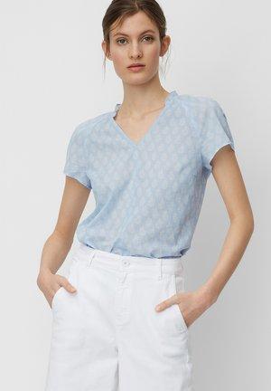 Blouse - multi/light blue