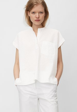 Blouse - multi/white