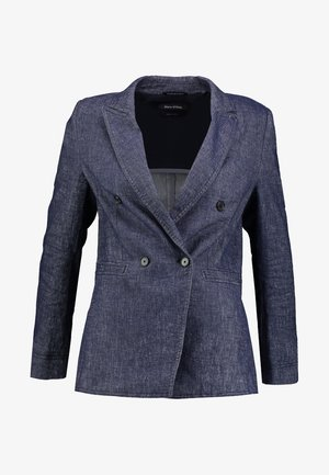 TAILORED DOUBLE BREA - Blazer - blue