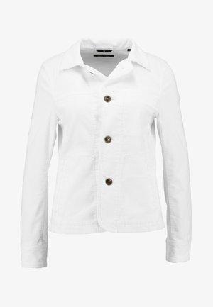 JACKET SLIM FIT - Veste légère - soft white