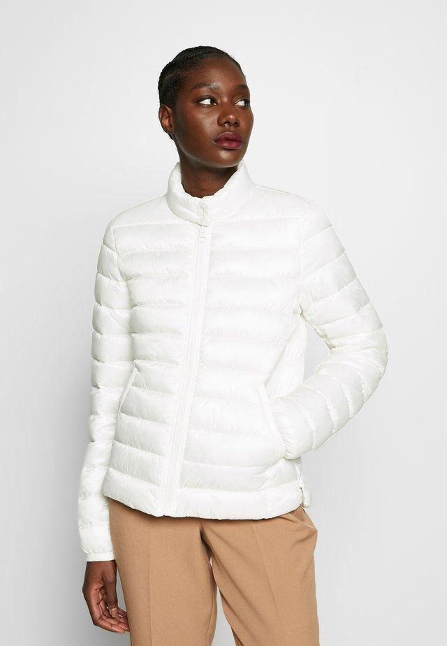 NO DOWN SLOW DOWN - Zimní bunda - soft white