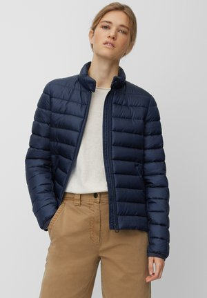 NO DOWN SLOW DOWN - Winter jacket - mottled blue