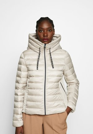 Down jacket - light beige