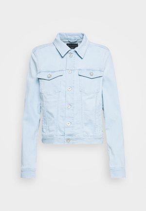 JACKET BUTTON CLOSURE LONG SLEEVES REGULAR LENGTH - Denim jacket - light-blue denim