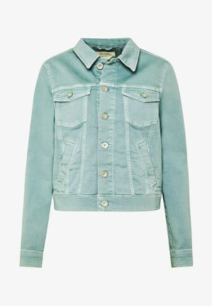 JACKET BUTTON CLOSURE GARMENT DYED - Giacca di jeans - misty spearmint