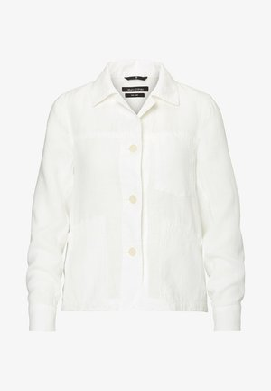 AUS REINEM  - Summer jacket - white linen