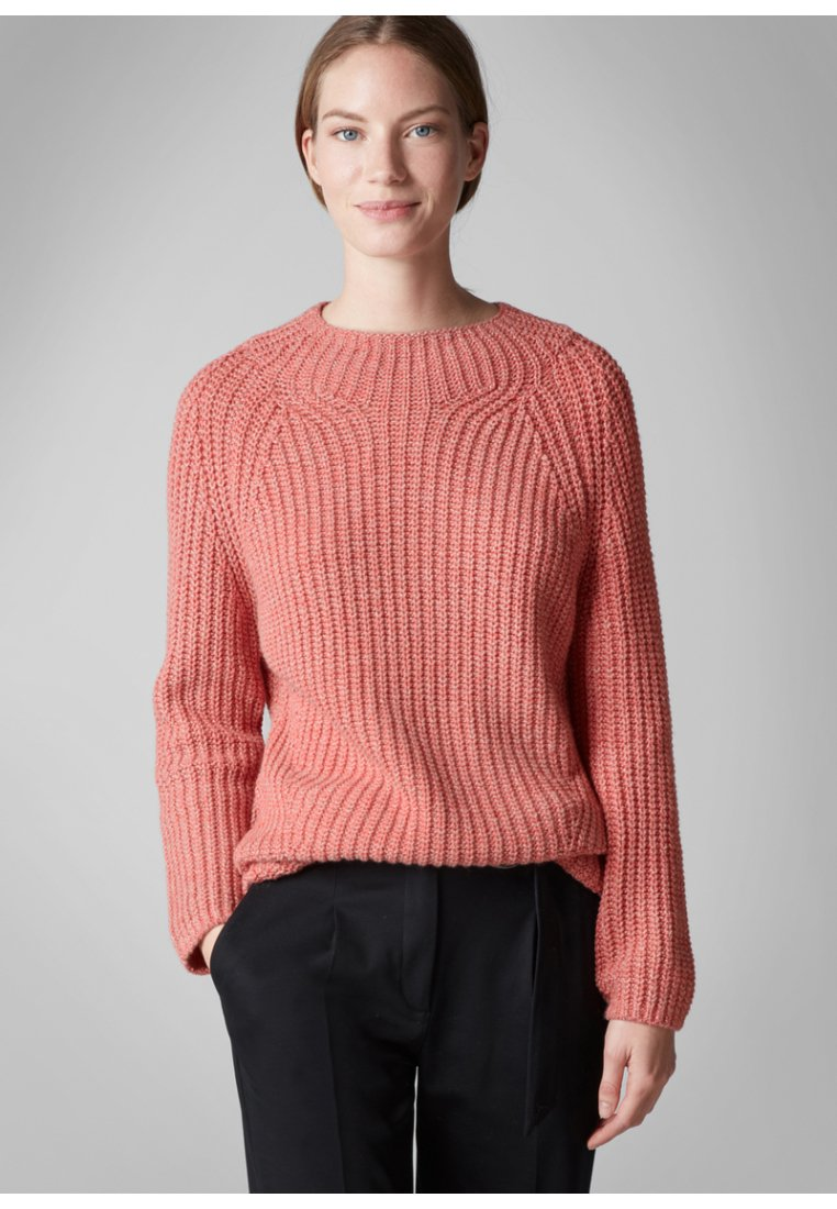 Marc O'Polo PURE - Strickpullover - red