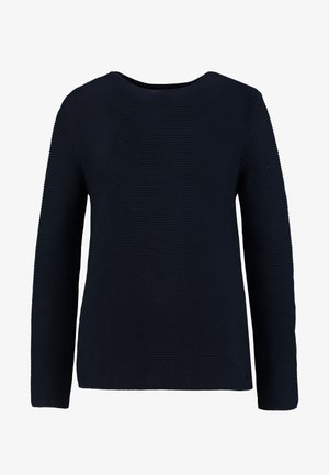 LONGSLEEVE SMALL LINKED - Jersey de punto - midnight blue