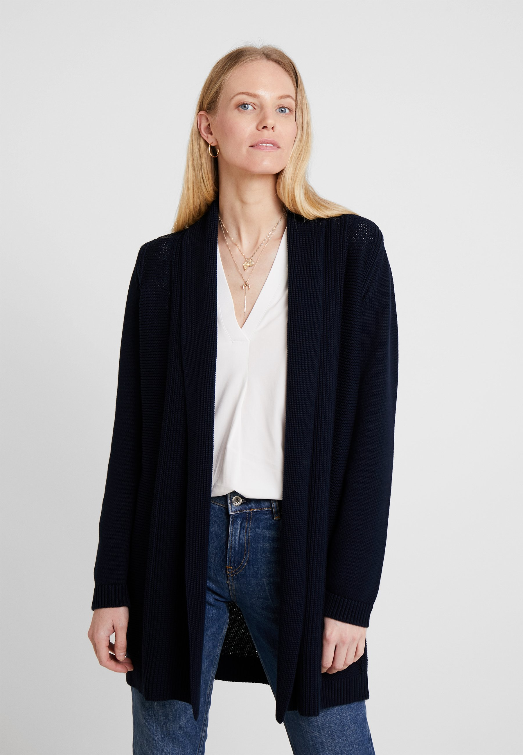 LongsleeveGilet O'polo Midnight Marc Blue Cardigan DHeb9IWE2Y