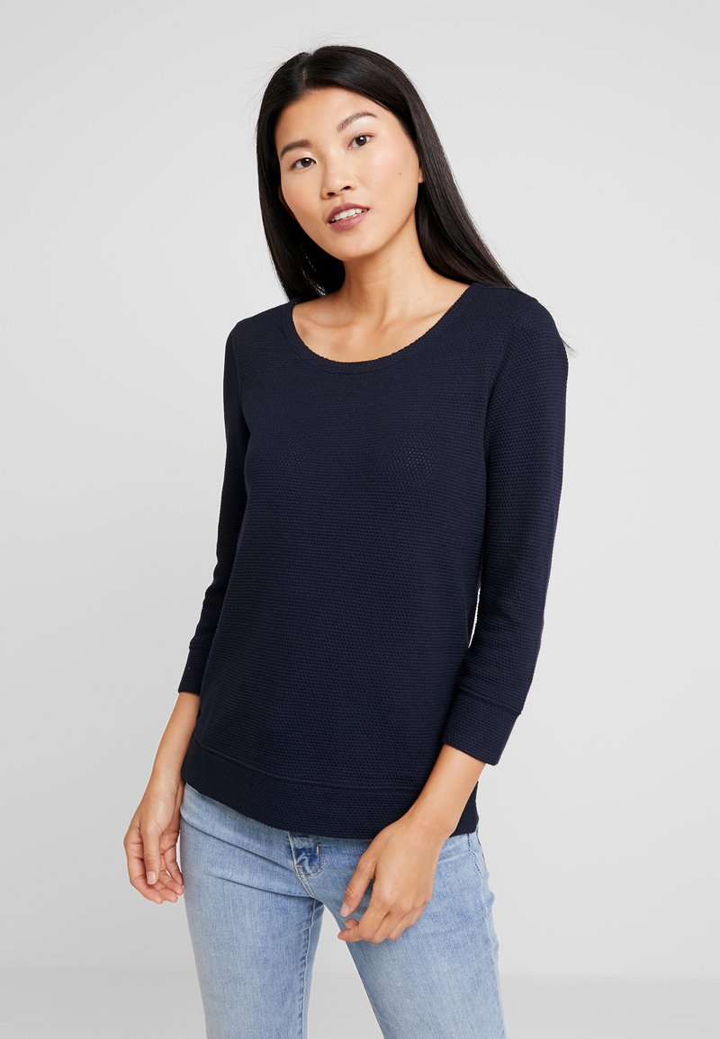 Marc O'Polo - LONG SLEEVE CREW NECK - Jersey de punto - midnight blue