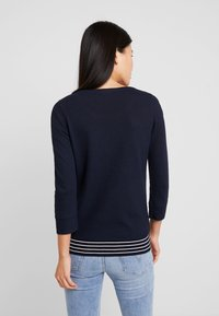 Marc O'Polo - LONG SLEEVE CREW NECK - Jersey de punto - midnight blue - 2
