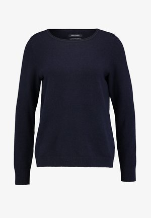 LONGSLEEVE BASIC - Sweter - midnight blue