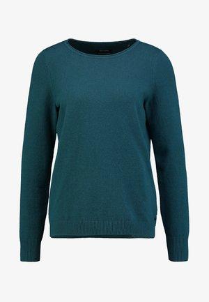 LONGSLEEVE BASIC - Strikkegenser - dusky emerald