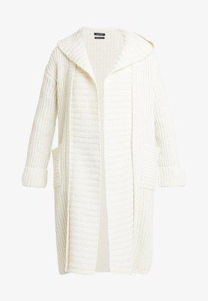 CARDIGAN LONGSLEEVE OPEN FRONT - Cardigan - soft white