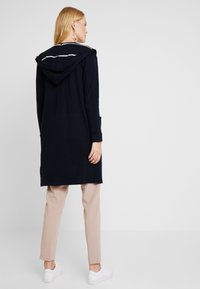 Marc O'Polo - CARDIGAN LONGSLEEVE PATCHED POCKE - Vest - midnight blue - 2