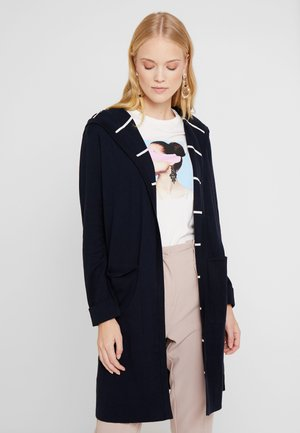 CARDIGAN LONGSLEEVE PATCHED POCKE - Cardigan - midnight blue