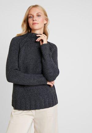 Sweter - smokey grey