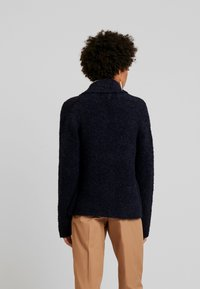 Marc O'Polo - OPEN FRONT - Cardigan - midnight blue - 2