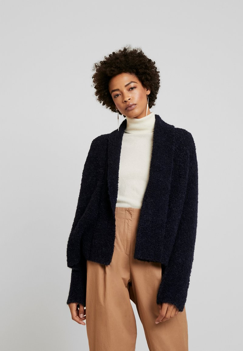 Marc O'Polo - OPEN FRONT - Cardigan - midnight blue