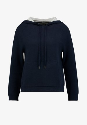 LONGSLEEVE WITH HOOD - Hoodie - midnight sea