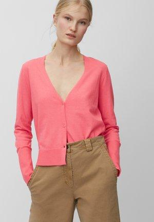 Cardigan - mottled pink
