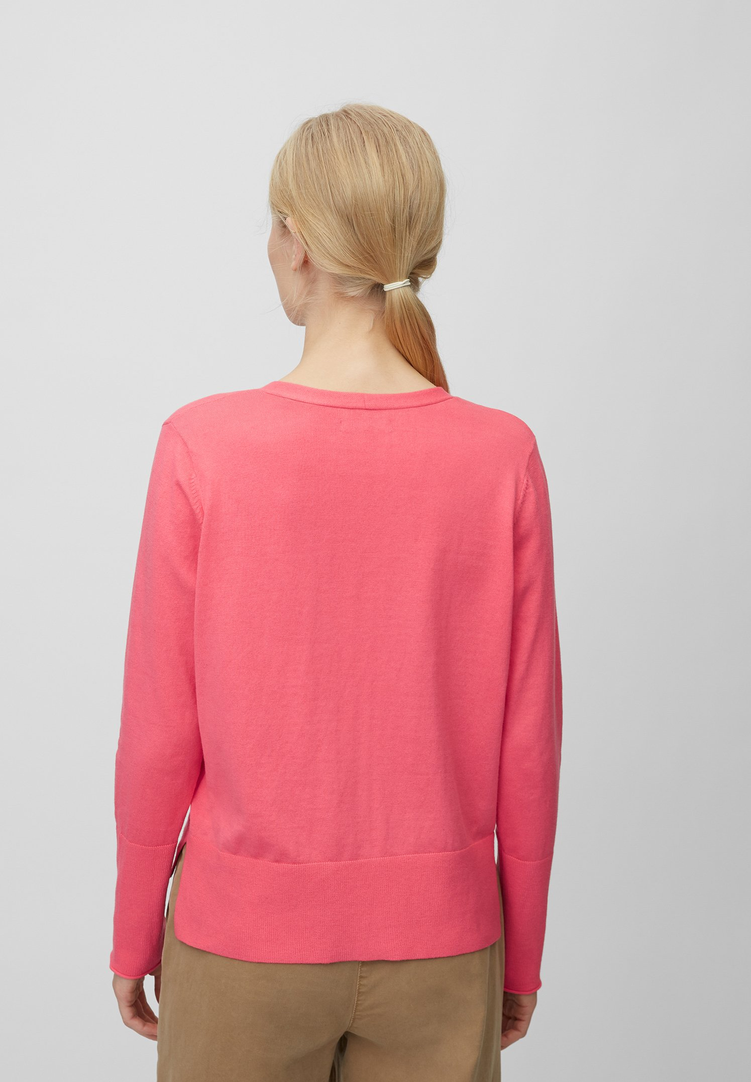 Marc O'Polo Kardigan - mottled pink