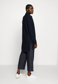 Marc O'Polo - CARDIGAN LONGSLEEVE HOODED WITH PATCHED POCKETS - Kardigan - night sky - 2
