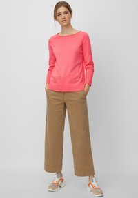 Marc O'Polo - BASIC SHAPE WITH STRUCTURE DETAILS - Trui - mottled pink - 1