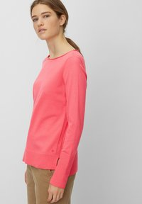 Marc O'Polo - BASIC SHAPE WITH STRUCTURE DETAILS - Trui - mottled pink - 3