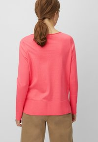 Marc O'Polo - BASIC SHAPE WITH STRUCTURE DETAILS - Trui - mottled pink - 2