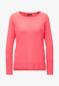 Marc O'Polo - BASIC SHAPE WITH STRUCTURE DETAILS - Trui - mottled pink - 5
