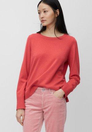 Pullover - mottled pink