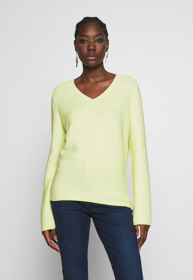 Jersey de punto - multi/juicy lime