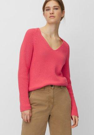 PULL - Jumper - mottled pink