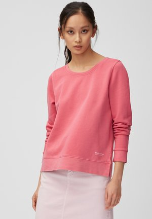 Sweatshirt - mottled pink