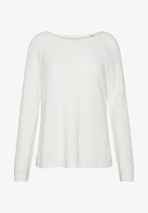 RAGLAN-SLEEVE STRUCTURE - Jersey de punto - oyster white