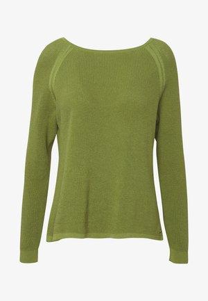 RAGLAN-SLEEVE STRUCTURE - Pullover - seaweed green