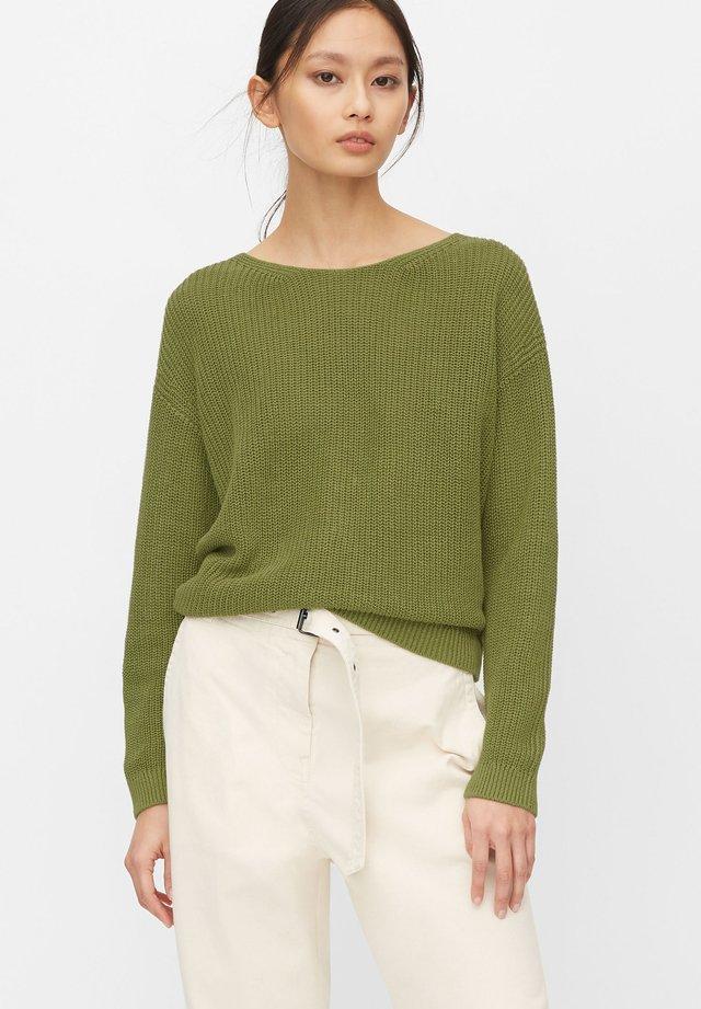 Sweter - seaweed green