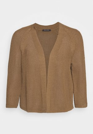 Cardigan - deep tobacco