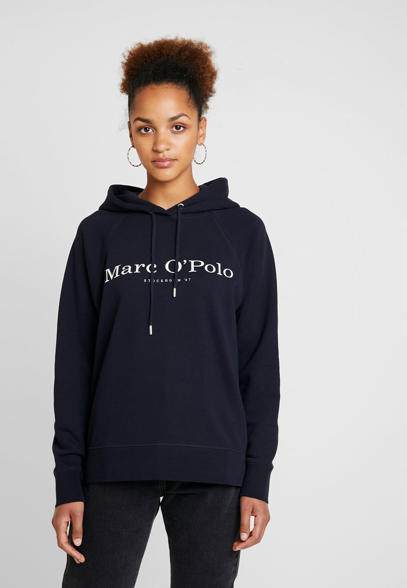 Marc O'Polo - Kapuzenpullover - midnight blue