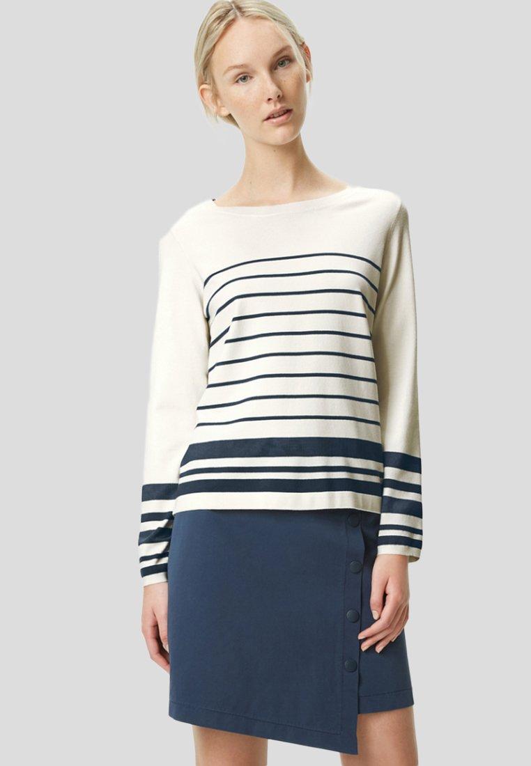 Marc O'Polo - Sweatshirt - white/blue