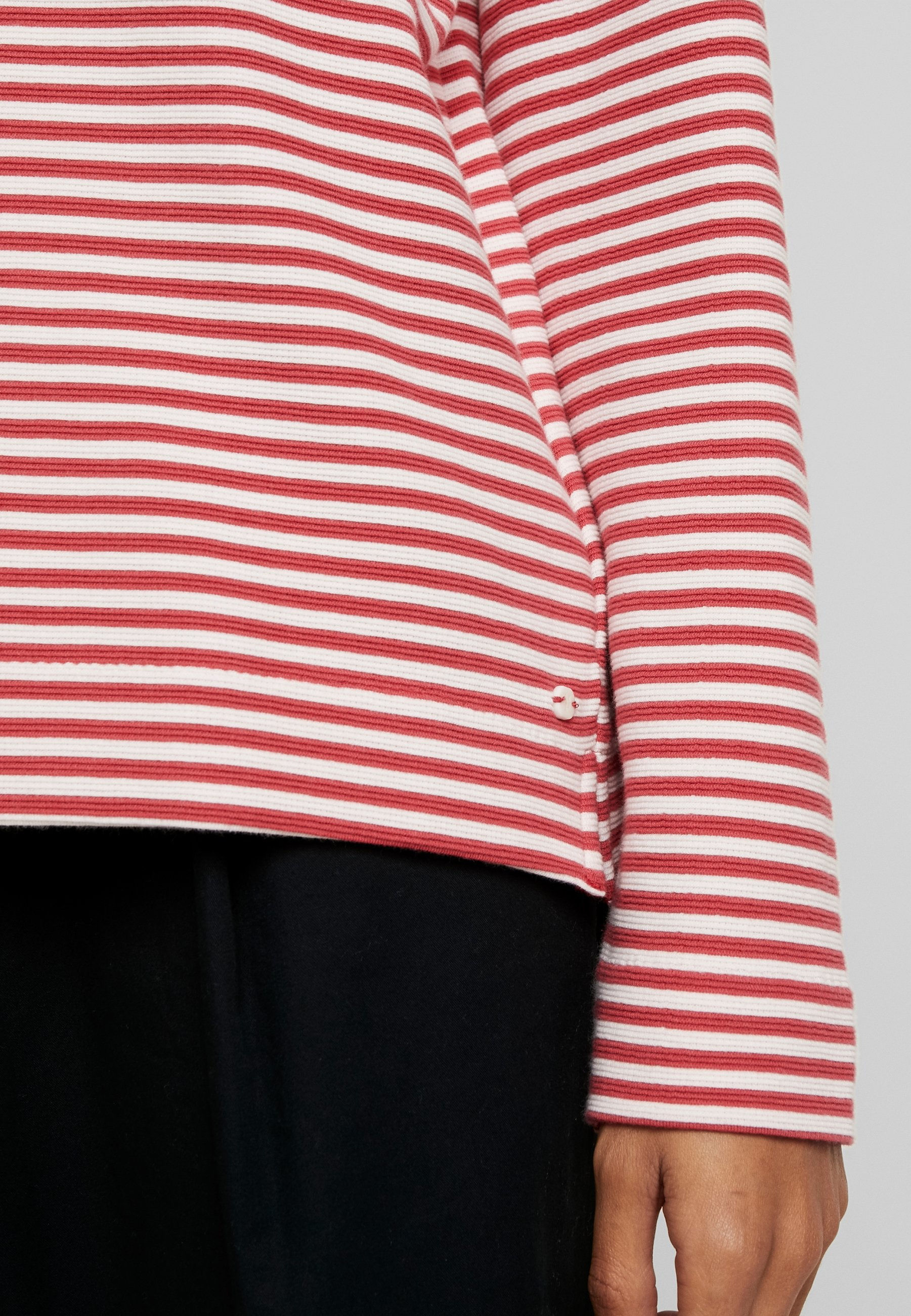 Marc O'polo Loose Fit - Stickad Tröja Red
