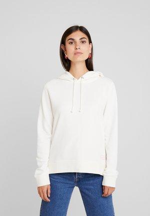 Mikina skapucí - soft white