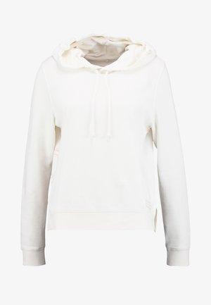 Sweat à capuche - soft white